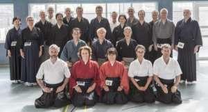 IKYF Seminar Frankfurt:Sensei mit Schweizer Delegation